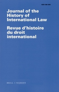 Journal of the History of International Law.