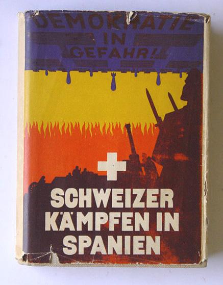 Schweizer Kämpfen in Spanien