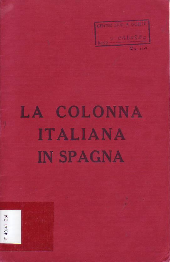 La Colonna italiana in Spagna