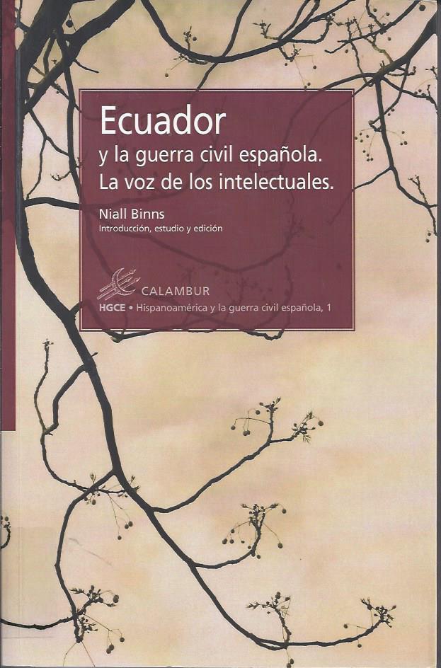 Ecuador y la guerra civil española : la voz de los intelectuales