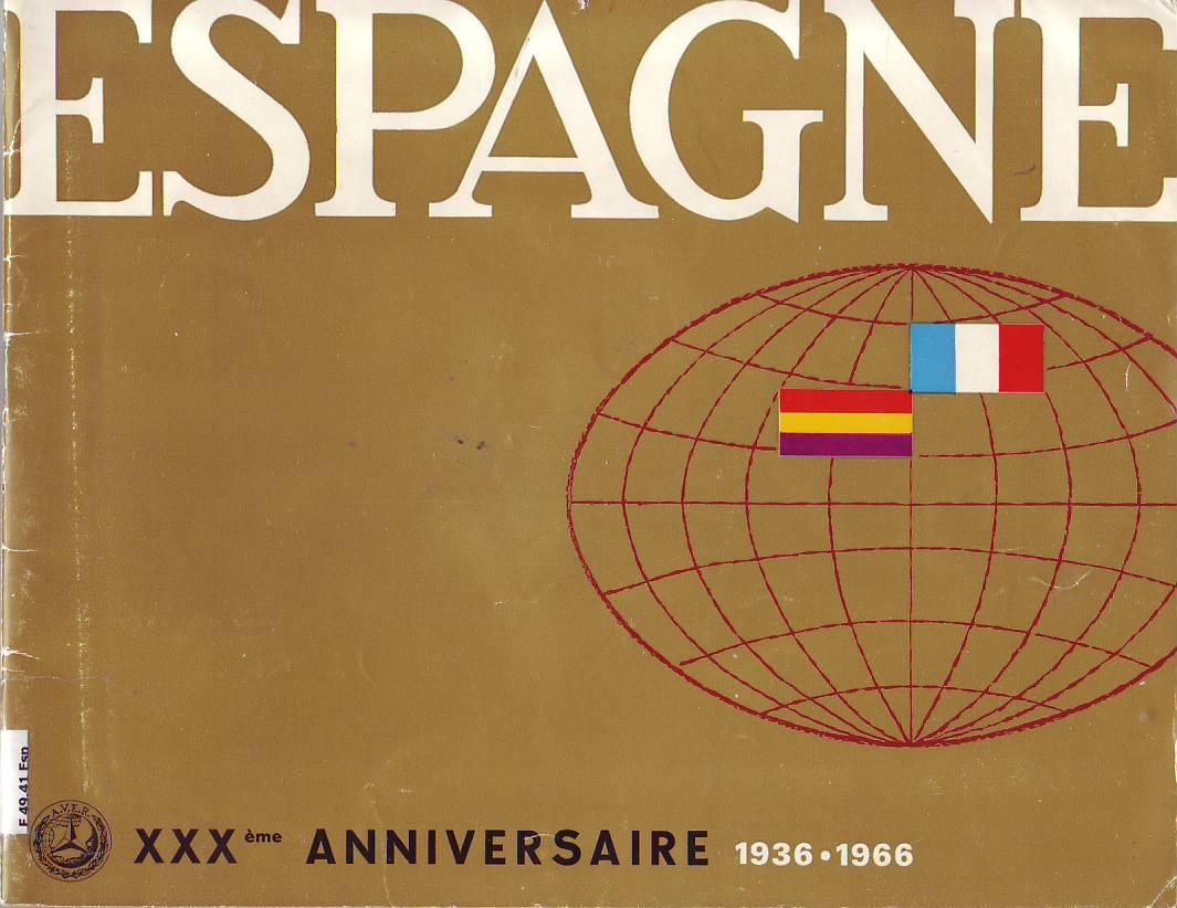Espagne. XXXème anniversaire, 1936 - 1966