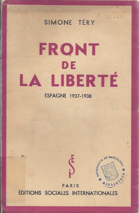 Front de la liberté : Espagne 1937-1938
