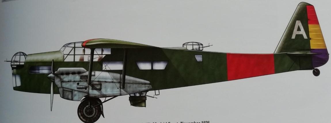 Potez 540 al Front de Madrid (Novemvre 1936)