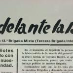 Adelante la 13ª : órgano de la 13ª Brigada Mixta